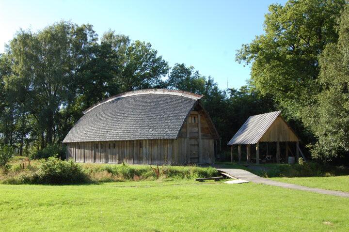 Vikingagården en stormannagård från vikingatiden