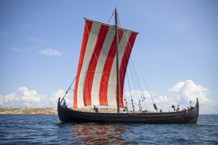 Äskekärrsskeppet Sveriges enda bevarade och utställda vikingaskepp
