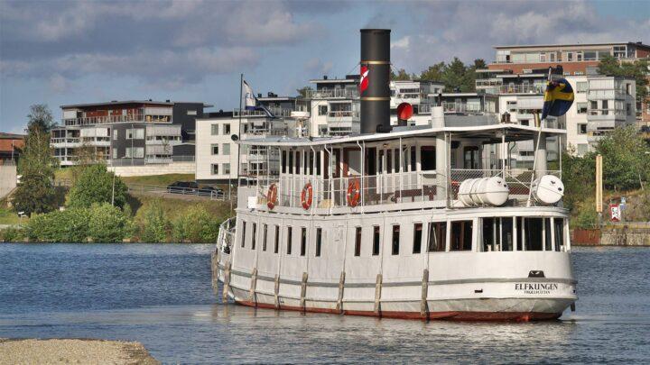 Båttur i Götaälvdalen