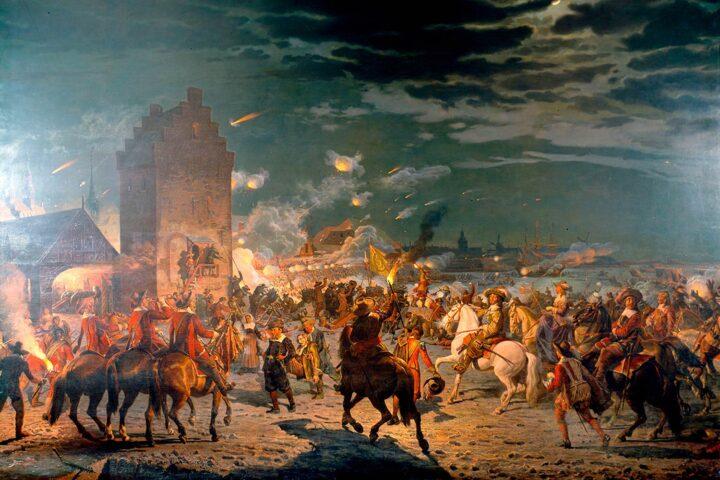 Genom freden i RoskiIde blir Bohus svenskt