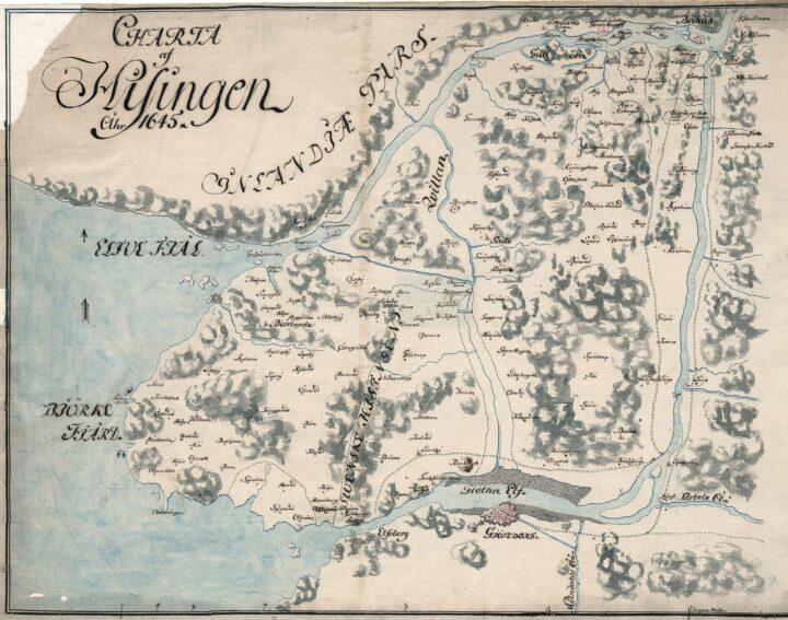 Hisingen – 1603 första Göteborg grundas