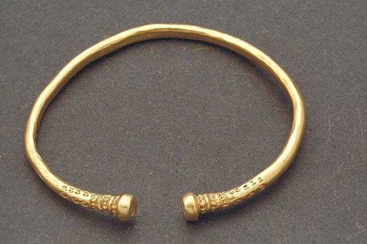 Guldfynd i Alvhem med förhistoriska rötter